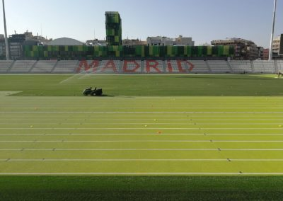 Estadio Vallehermoso Madrid