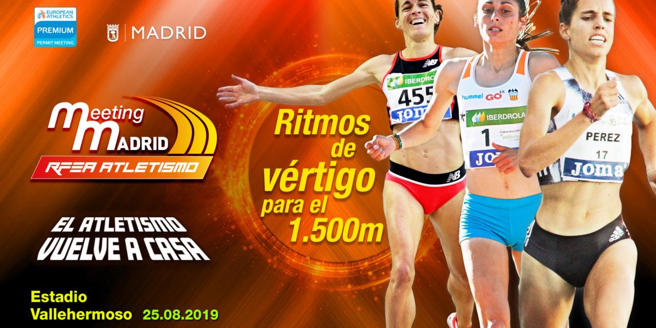 High level for de women 1.500m in Madrid