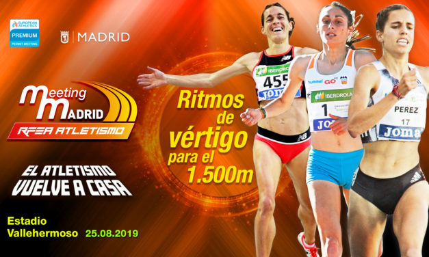 High level for de women 1.500m in Madrid