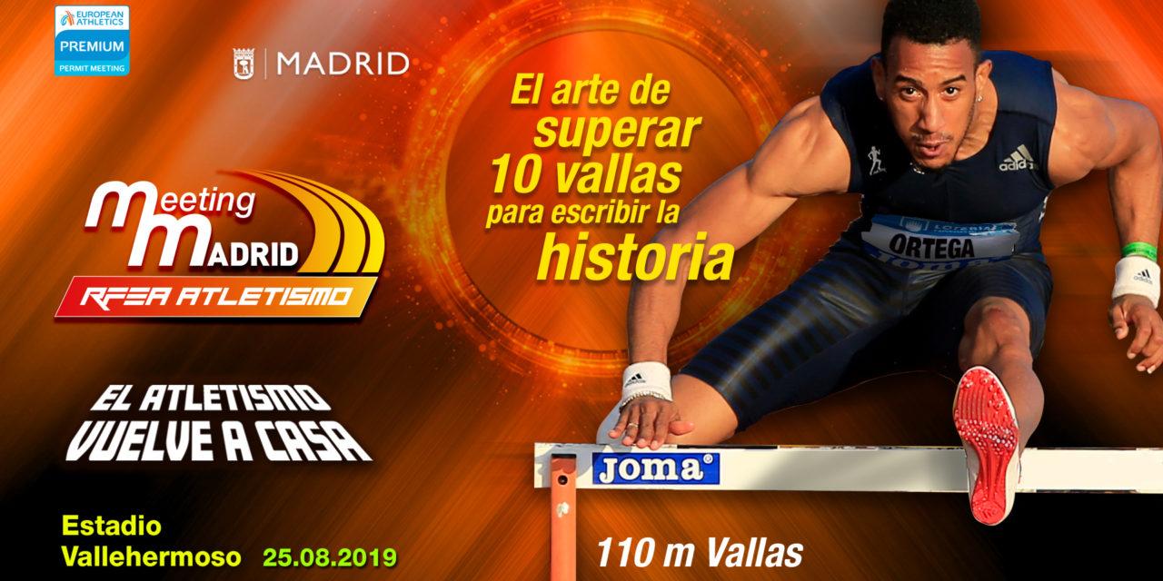 Orlando Ortega will be in Meeting Madrid 2019