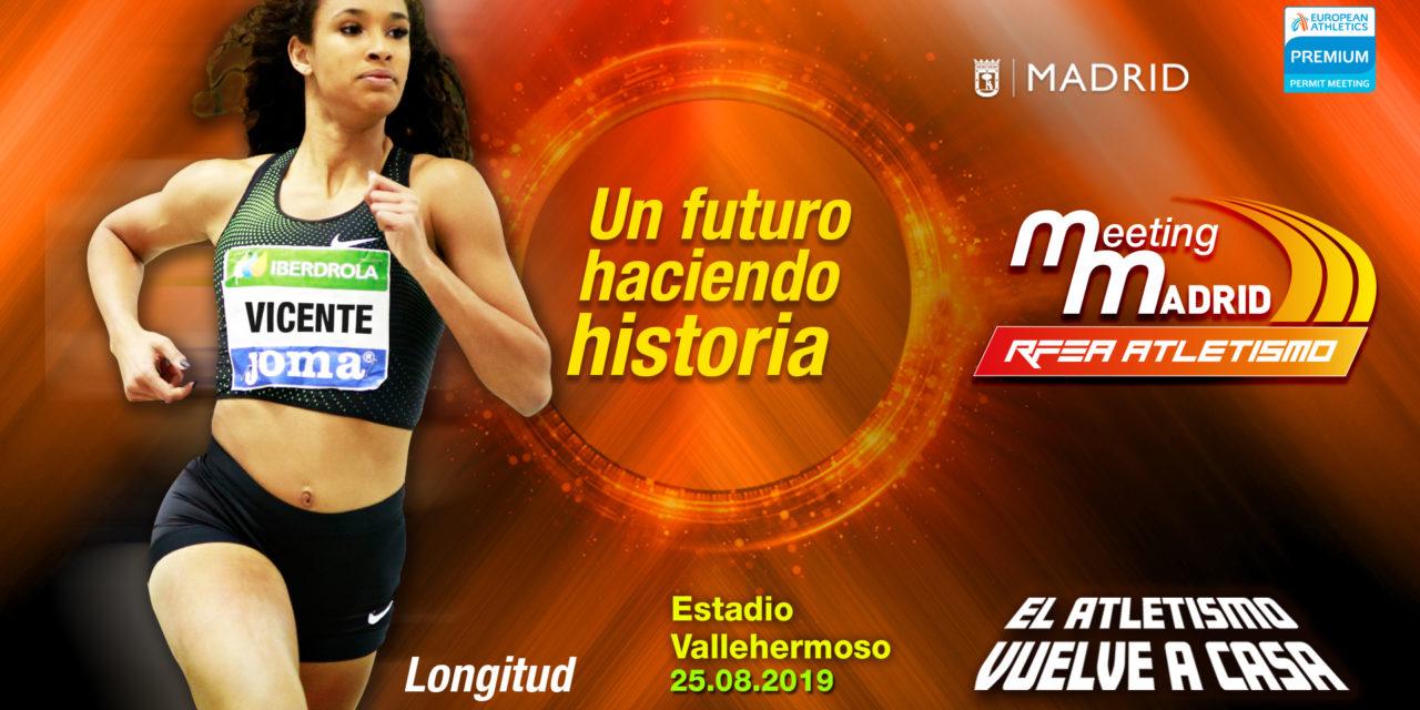 María Vicente estará en el estreno de Vallehermoso