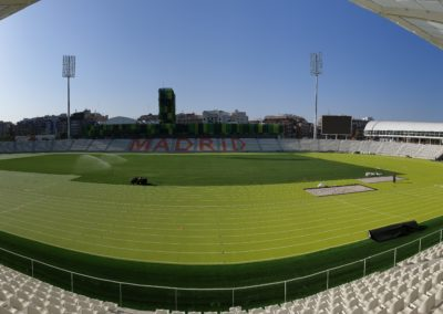 Estadio Vallehermoso panorámica gradas