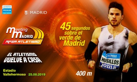Óscar Husillos, another star for Madrid Meeting