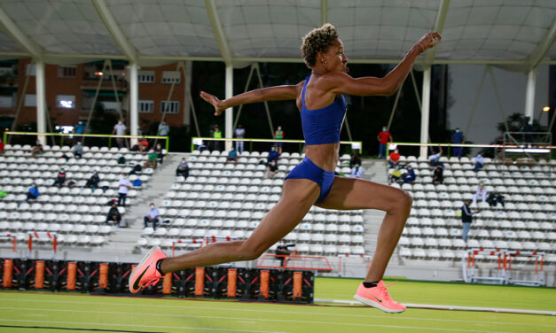 Rojas and Zango dominate the triple jump, Van Niekerk comes back with the Olympic standard